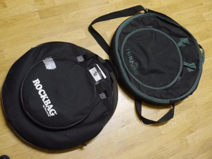 drum bekken tassen, Rockbag en Turkish