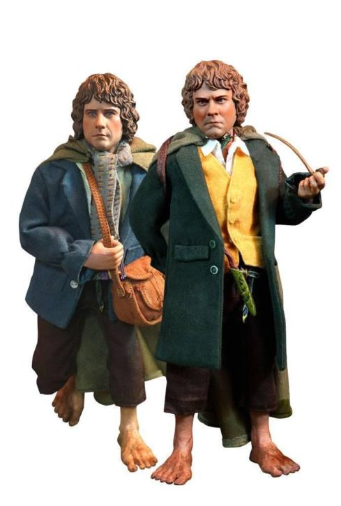 Lord of the Rings Action Figure 2-Pack 1/6 Merry & Pippin