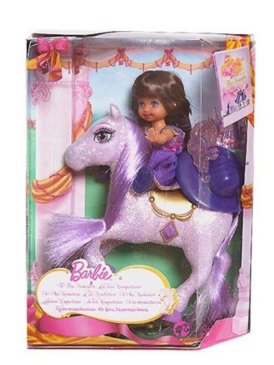 Barbie & the three musketeers - Shelly on a sparkling horse