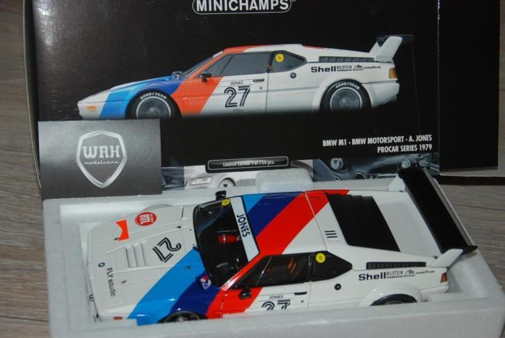 SALE! BMW M1 Motorsport Procar Jones #27 Minichamps WRH