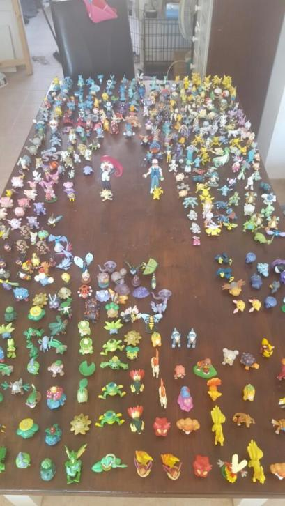 pokemon tomy poppetjes ( collectie)