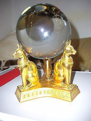Franklin Mint THE CRYSTAL BALL OF THE GODDESS BAST