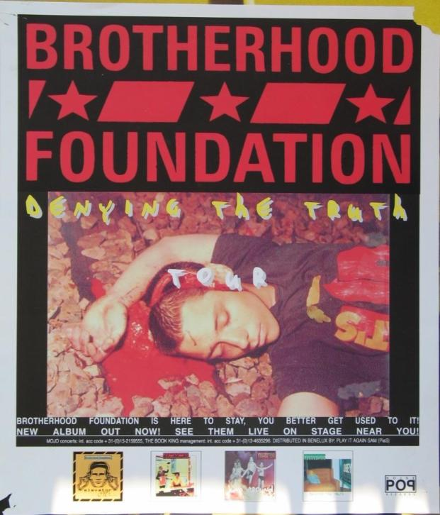"Poster Brotherhood Foundation ""Denying the Truth"" 1998"