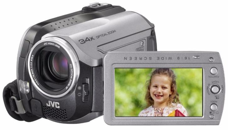 JVC Everio GZMG130 30GB Hard Disk Drive Camcorder 30 GB
