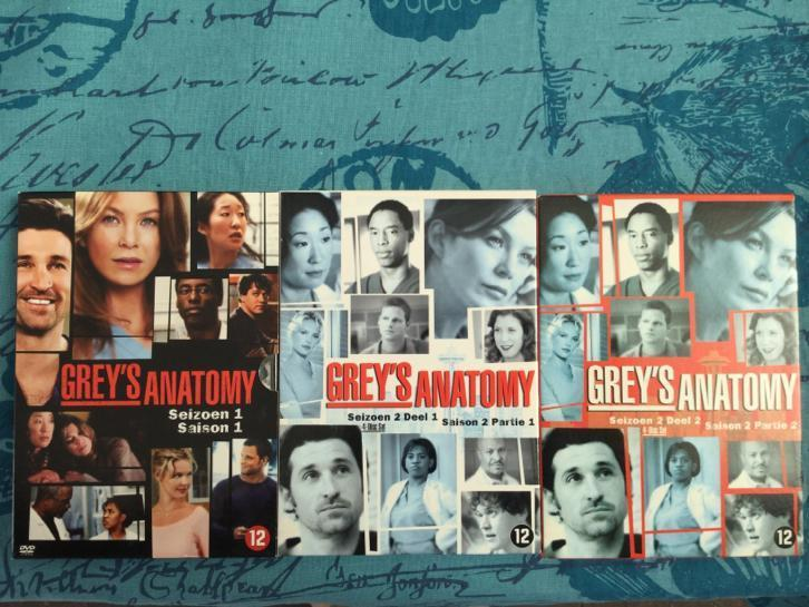 Grey's Anatomy seizoen 1&2