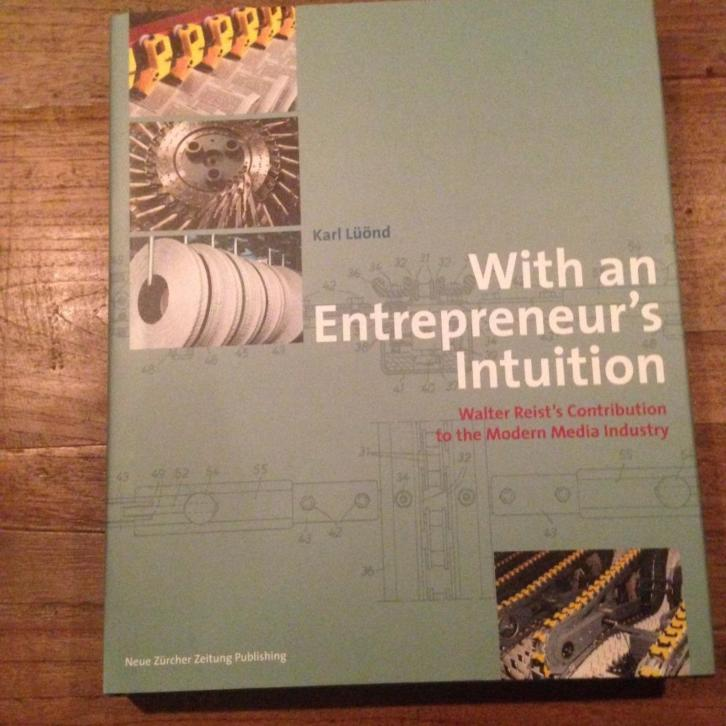 With an entrepreneur`s intuition