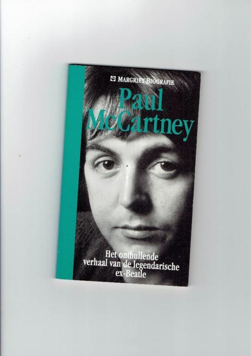 Paul Mc Cartney biografie (uitgave Margriet)