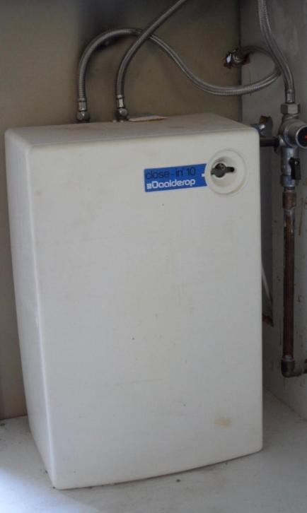 Close-in boiler, 10 liter Daalderop