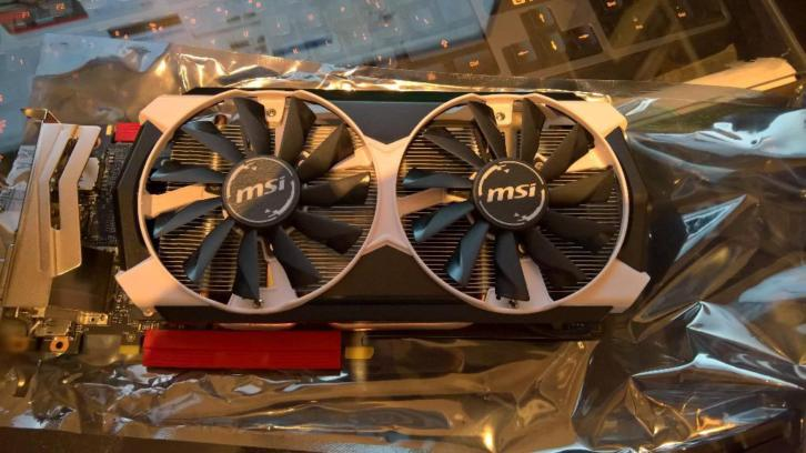 MSI Nvidia GeForce GTX 960 4GD5T