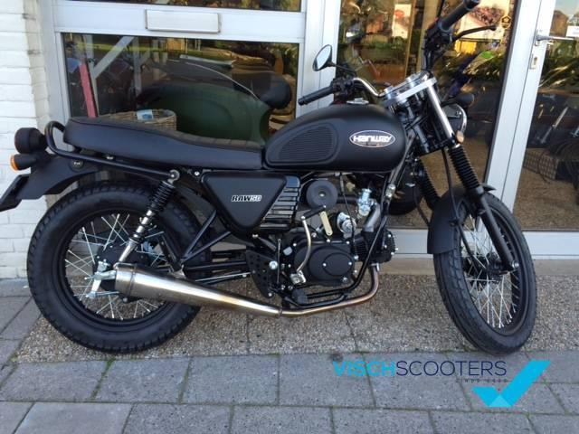 Hanway Caferacer 4Takt 50cc STUNTPRIJS (AGM Caferacer)