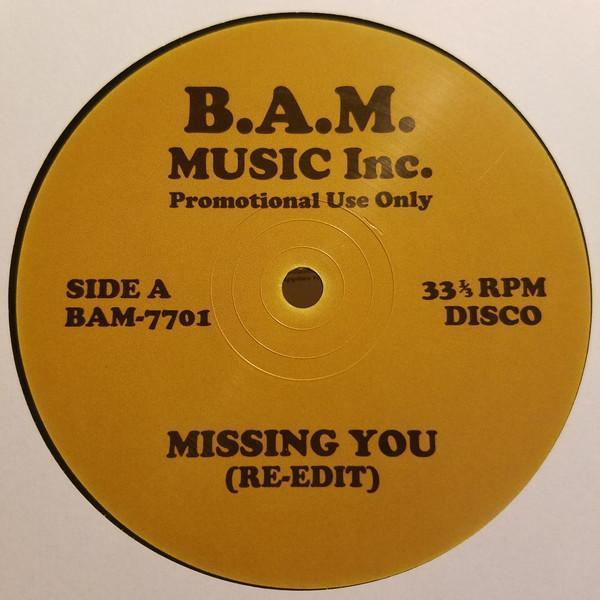 Various Missing You / Busy Man 12""