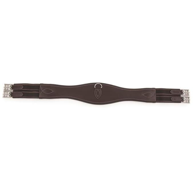 Shires Blenheim Leer Girth Zwart 38 inch