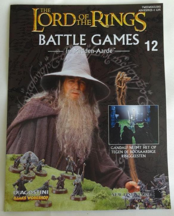 The lord of the rings battle games 12 games workshop