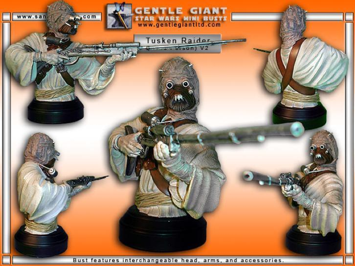 Star Wars Gentle Giant Tusken Raider bust