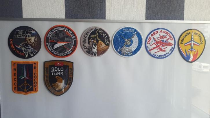 Diverse Luchtmacht patches