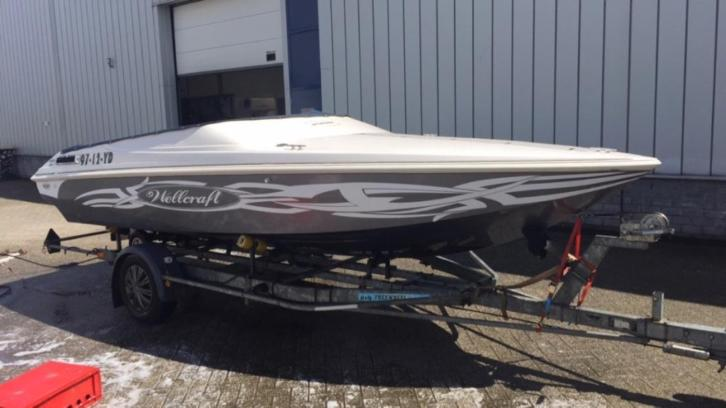 Wellcraft Scarab Sprint 19ft V6 mercruiser speedboot
