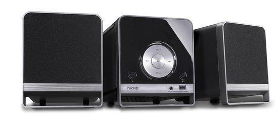 Nikkei NMC310 - Microset met Bluetooth, radio, MP3, CD-sp...