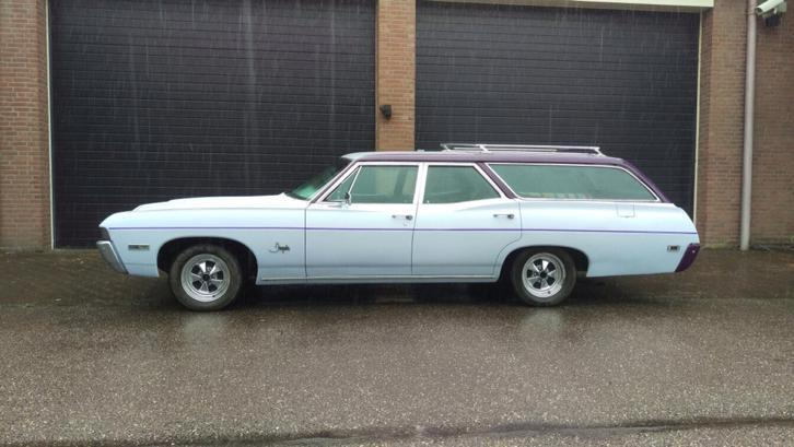 Chevrolet Impala 1968 Station 8 persoons op gas