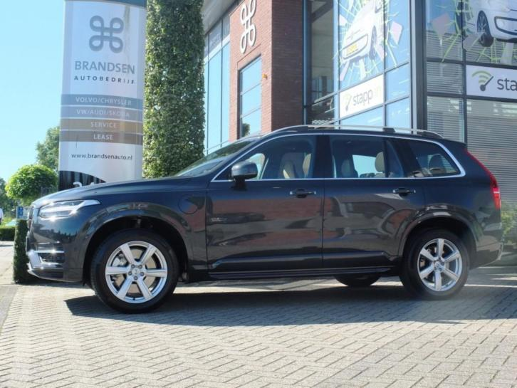 Volvo XC90 2.0 T8 TWIN ENGINE AWD MOMENTUM, luchtvering, pan