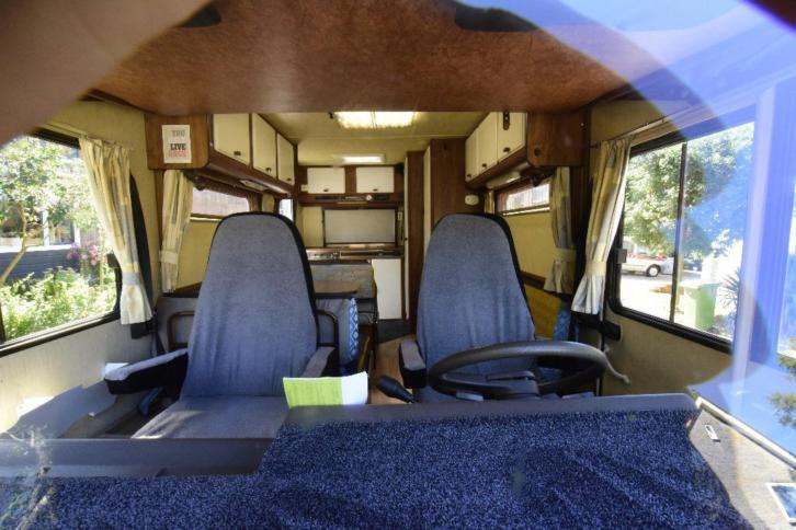 Hymer b544 - 1986 - 5/6 persoons camper