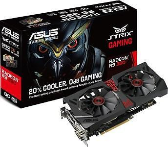 Asus strix-r9380-dc2oc-2gd5-gaming - 2gb - pci-e