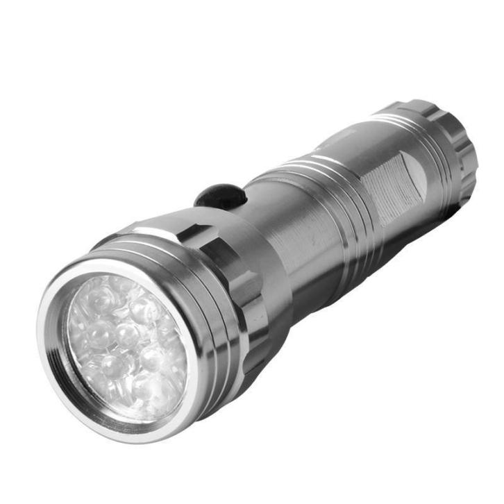 Aluminium zaklamp 14LED