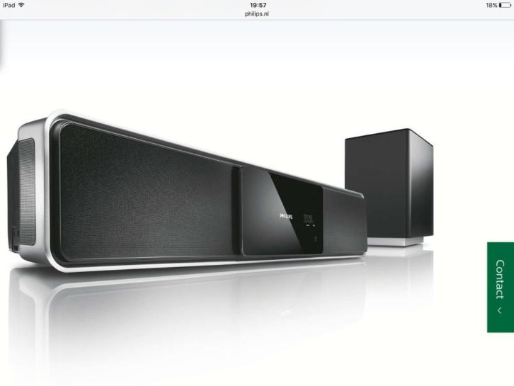 Philips soundbar HTS6100/12