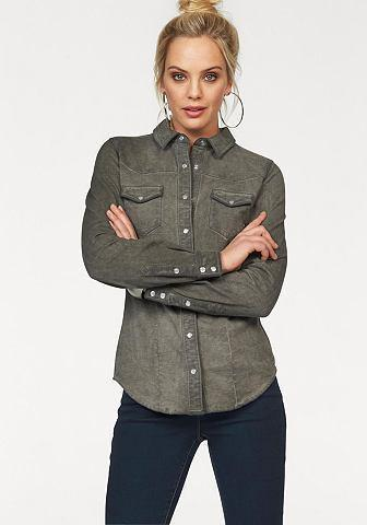 ARIZONA Blouse in jeans-look