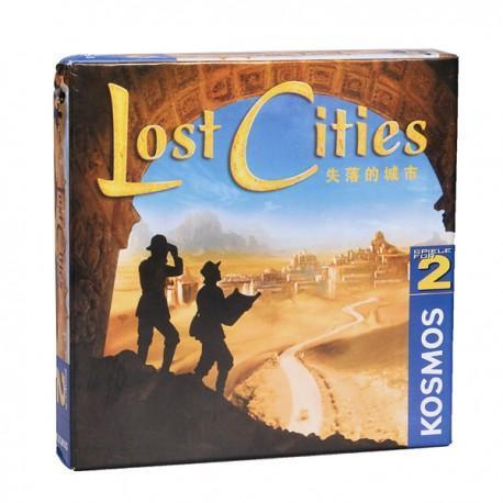 Lost Cities Board Game Card For Gathering Party