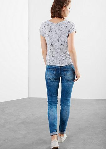 Q/S designed by Super skinny: moonwashed jeans
