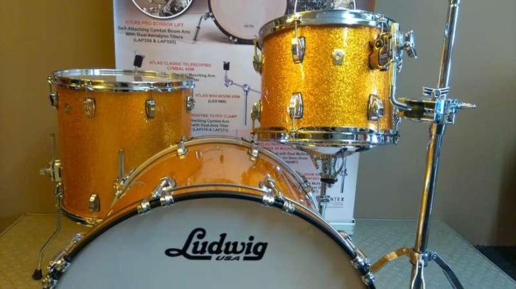Ludwig Classic Maple - Gold Sparkle