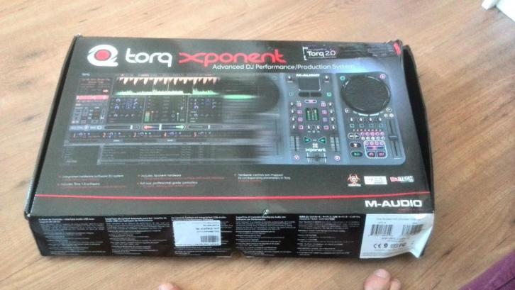 M-AUDIO Torq Xponent DJ set