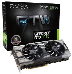 EVGA GeForce GTX 1070 FTW GAMING ACX 3.0 - 8 GB