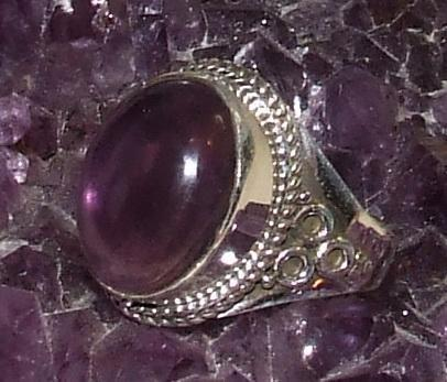 Amethist ring .925 sterling zilver rs1282