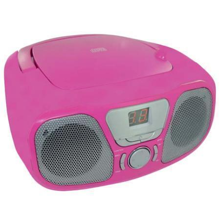 Bigben Interactive CD46 - Kids Pink - Radio met CD voor Kind