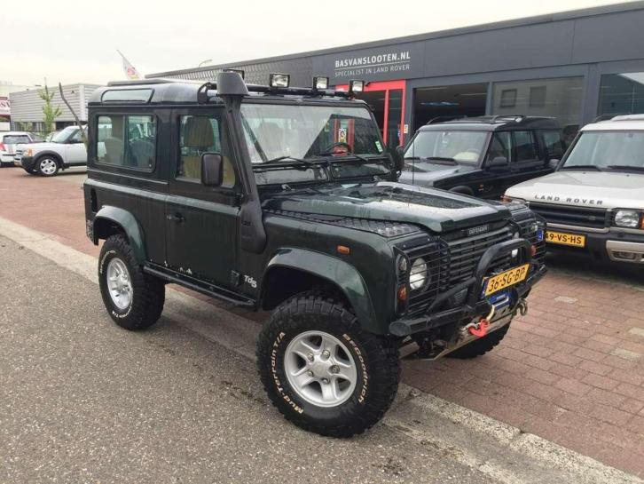 Land Rover Defender 2.5 90 Td5 County 40x Land Rover bij Bas
