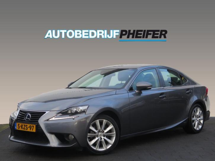 Lexus IS 300h Edition/ Lederen int/ Full map navigatie/ Rijk