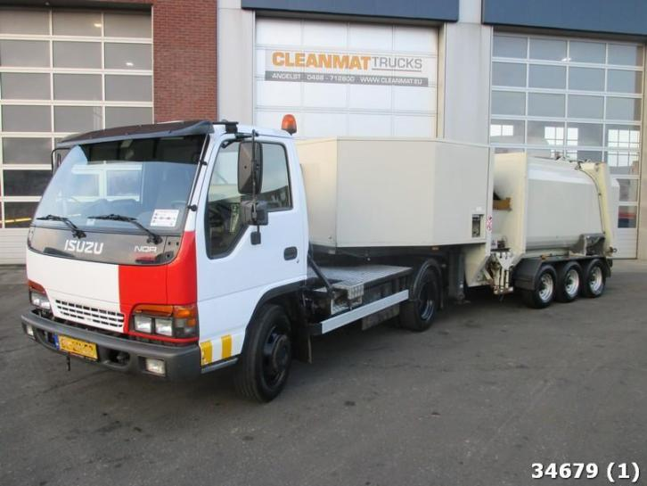 Isuzu NOR70G-5L NQR 70 complete with Geesink Garbage Press T