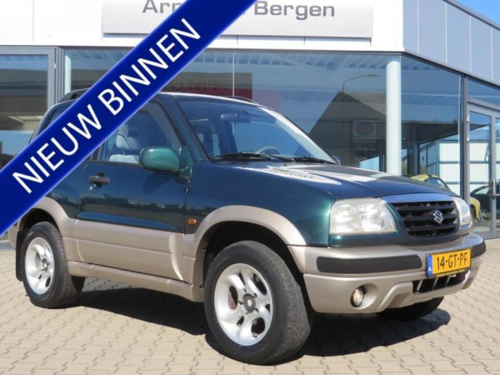 Suzuki Grand Vitara 2.0 METAL TOP WIDE BODY (bj 2001)