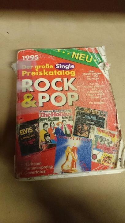 2x Rock & pop single & LP preiskatalog 1995