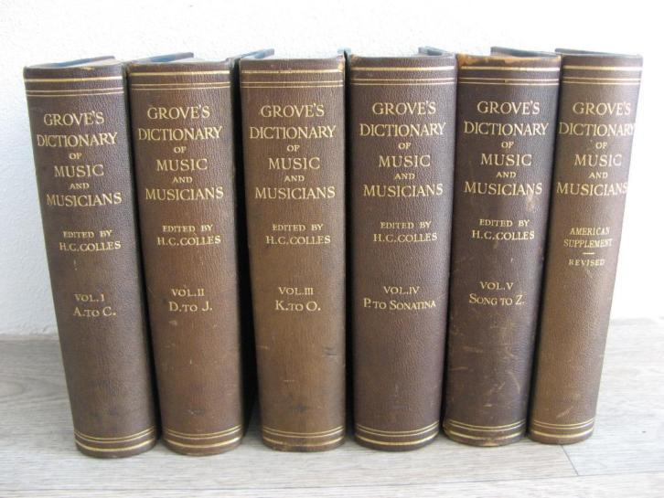 Grove's Dictionary of Music & Musicians