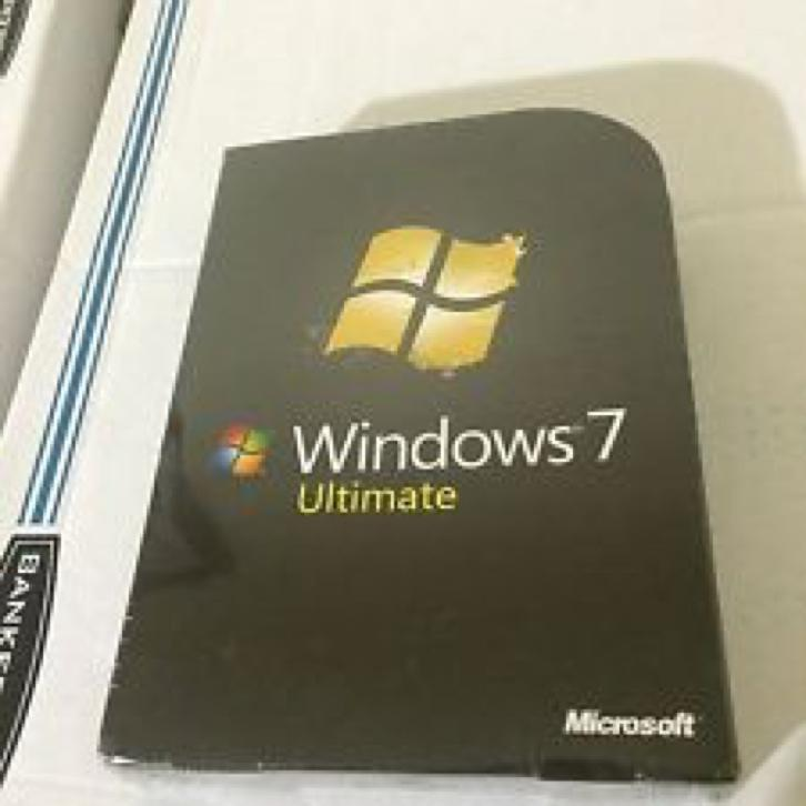 Windows 7 Ultimate NL 32/64 bit (Licentie DVD)
