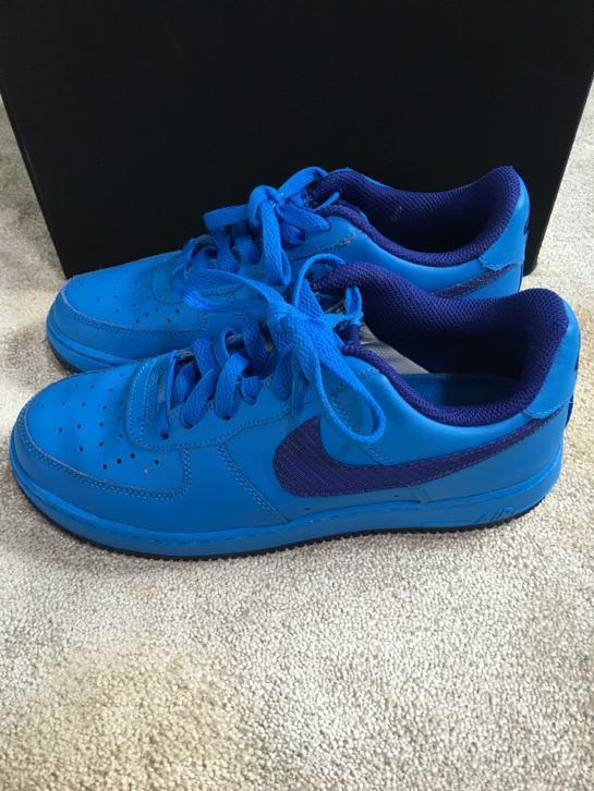 Nike air force blauw