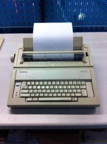 elektrisch typemachine brother ax-110 (azerty)