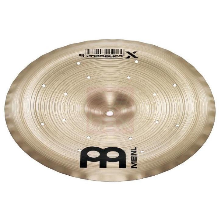 Meinl Generation X GX-14FCH Thomas Lang Filter China bekken