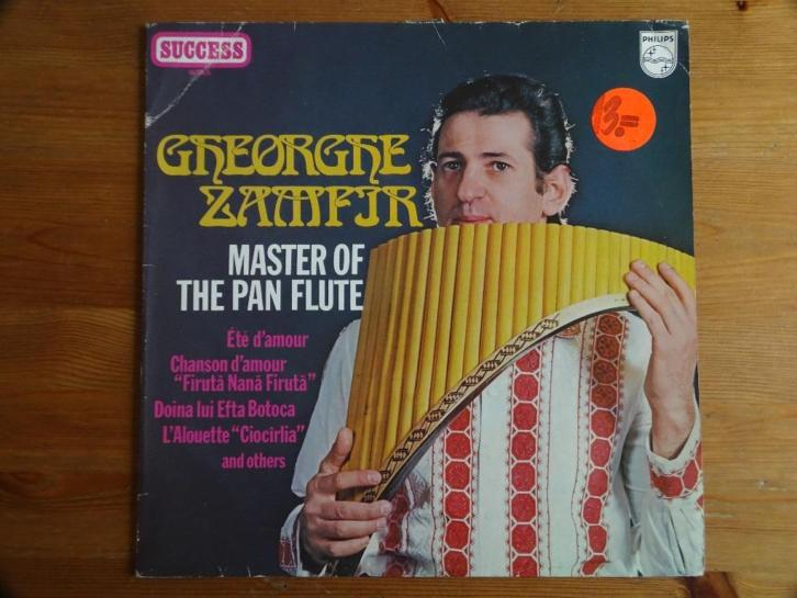 Greorgre Zampjr: Master of the pan flute
