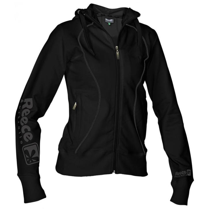 Reece Hooded Sweat Full Zip ladies Zwart SR + € 2