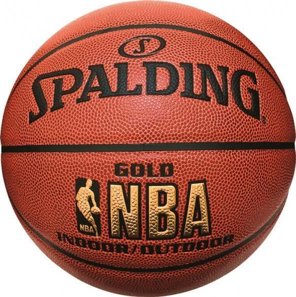 Spalding Basketball 7 In&out NBA Gold