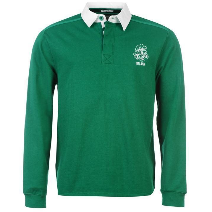 MEGAAKTIE 55%Korting!! Team Ireland Rugby Shirt Mens €26.95