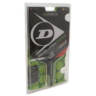 Dunlop Revolution 4000 Table Tennis Bat Rood 1 Maat